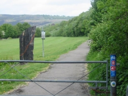 The Taff Cycle Trail in Wales